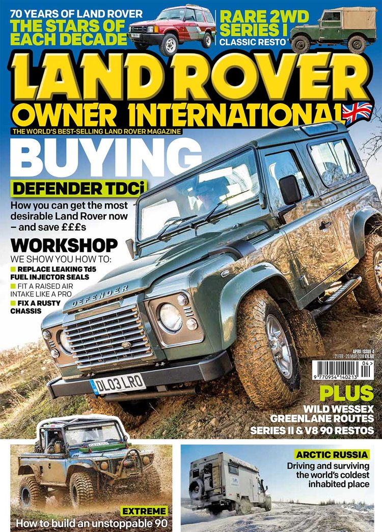 Capa Land Rover Owner International
